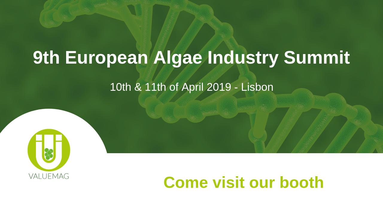 9th European Algae Industry Summit VALUEMAG