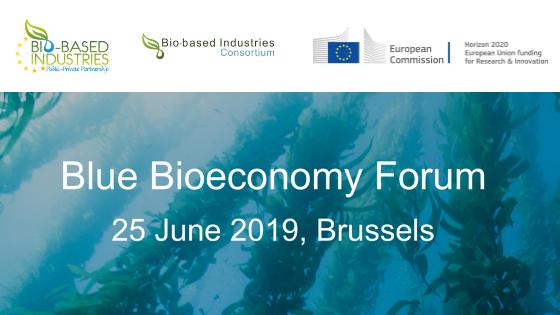 Blue Bioeconomy Forum Brusels 2019