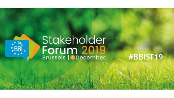 BBI JU Stakeholder Forum 2019