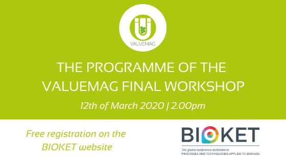 VALUEMAG final workshop programme